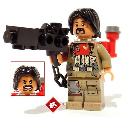 Lego Star Wars Rogue One Baze Malbus minifigure from set 75153