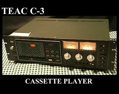 Teac C-3 Cassette Tape Player - In Rack Mount