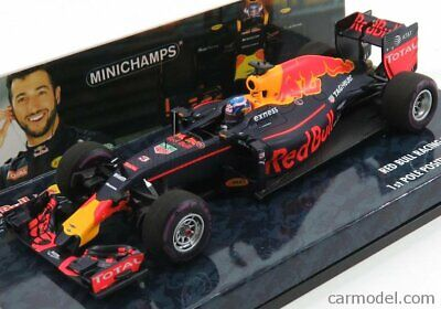Minichamps 417160103 scala 1/43 red bull f1 rb12 tag heuer n 3 first pole