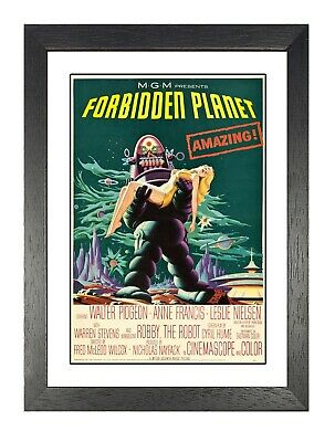 Forbidden Planet Landscape #2 Poster Science Fiction Film Picture Earth Advert