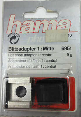 HAMA Hot Shoe Adapter 1: Centre NOS