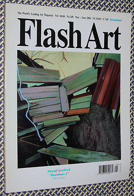 FLASH ART Magazine, THORALF KNOBLOCH, Atom Egoyan, Graham Little, Colacello