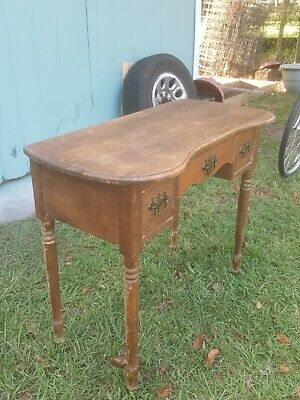 Antique Vintage Console Sofa Table solid wood
