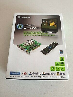 WinFast DTV2000 H TV Tuner Card PCI