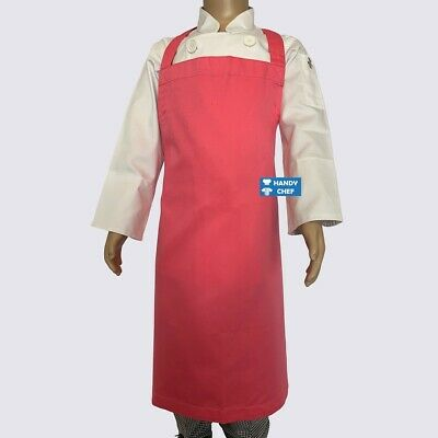 Kids Chef Apron Pink - See Our Ebay store for Kids Chef Hat, Kids Chef Jacket
