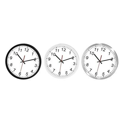 12 Inch Quality Quartz Battery Operated Wall Clock For Home/Office/School