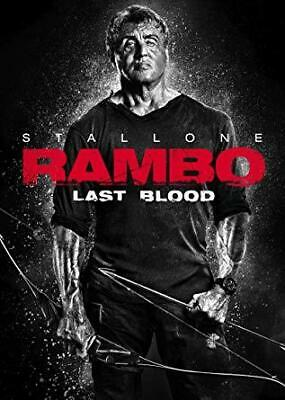 Rambo Last Blood  DVD Free Shipping PreOrder release 12/17