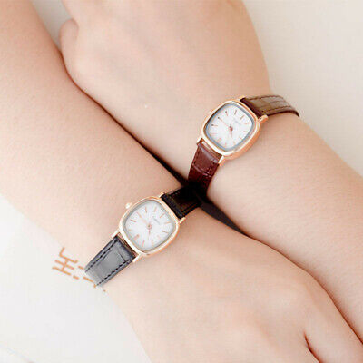 Small Dial Ladies Dress Leather Women Watch Casual Girls Watch Women Wristwatch