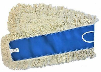 Thick Tufted Replacement Head for Home Perfect for Hardwood Commercial Use 1, 24 Concrete Fits Standard Size Mop Frame Bonison Industrial Strength Cotton Dust Mop Head Refill Laminate