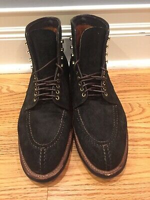 Alden Earth Reverse Chamois NST Boot Size 9.5D. Special Alden-Frans Boone makeup