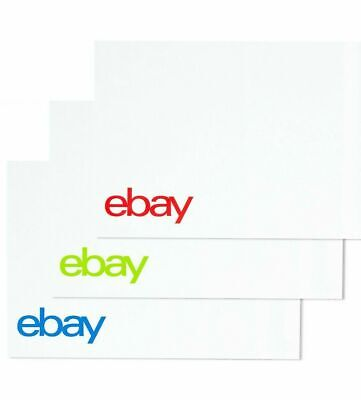"25 eBay-Branded Polymailer Red Green & Blue 9"" x 11.5"" (No Padding)"