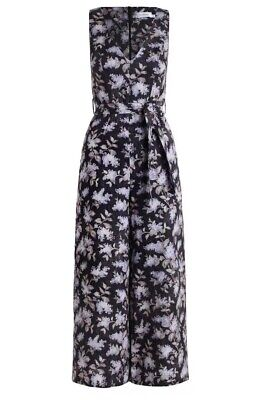 Zimmermann Strandard Floral Jumpsuit Playsuit Romper Size 3 With Tags RRP $695
