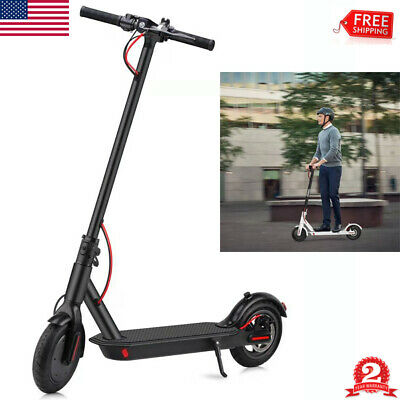 "8.5"" Folding Kick Scooter Sport Adjustable Exercise Escooter Two Wheel Kid Adult"