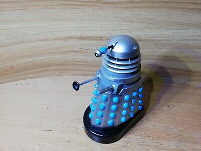 Doctor Who Talking FX Dalek Invasion of Earth Silver & Blue Movie Classic 5""