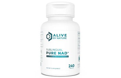PURE NAD+ Fast Dissolve Sublingual Tablets – 240 ct, 125 mg each