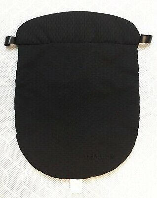 Mothercare Orb Carry Cot Apron Cover Weather Shield - Black - Damage