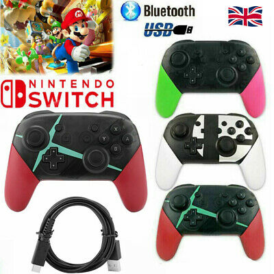 Wireless Bluetooth Pro Controller Gamepad Charging Cable for Nintendo Switch HOT