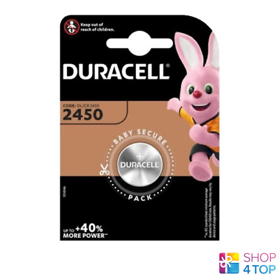 Duracell Cr2450 Lithium Batteries 3V Coin Cell Dl2430 Br2430 Exp 2027 New