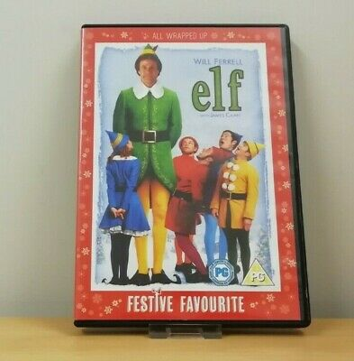 Elf (2-Disc DVD, 2005, Dir. Jon Favreau) Will Ferrell, Zooey Deschanel