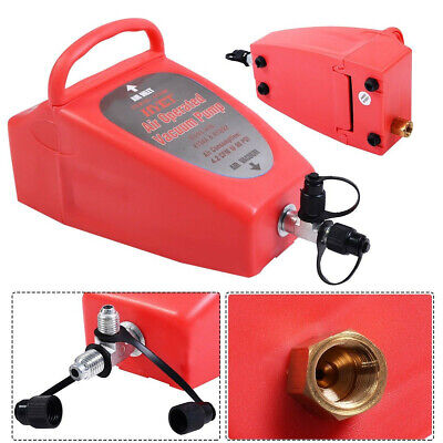 Vacuum Pump Air Operated Red Portable Automotive Industrial Power Tools System