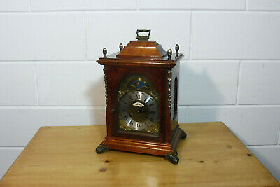 Antique Big Table Clock Mantel Clock Shelf Mantel Dutch