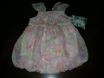 Girls Romper Size 24months 2T Cachcach 1 piece Flowery  Bubble Cute New NWT