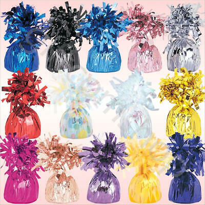 Pack of 6/12/18/24 Foil Balloon Weights Latex Helium Party Balloons Decoration