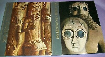 2 Time-Life Great Ages of Man Series:African Kingdoms & Cradle of Civilization