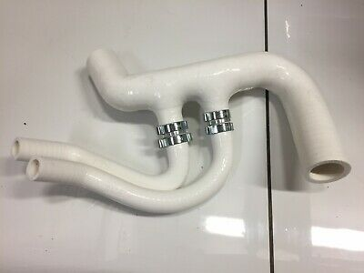Peugeot 106 GTI 1.6 16v Top Radiator Silicone Hose (with oil cooler) - WHITE