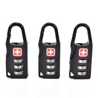 Luggage Suitcase Travel Security Lock 3 Digit Combine For TSA P CE ^P