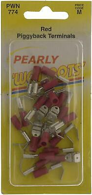 Pearl PWN774 Piggy-Back Wiring Connectors, Red, Set of 25   SUPERBUYS