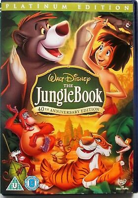 The Jungle Book (Disney) 40th Anniversary - Platinum Edition (2 Disc - DVD)