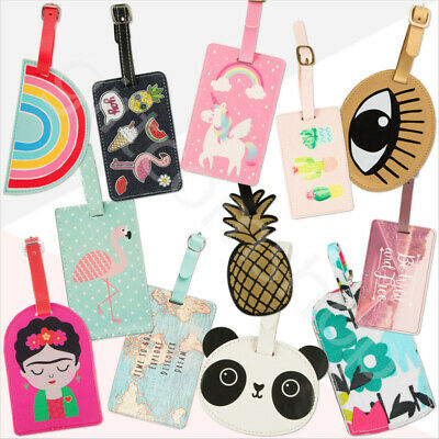 Plastic Luggage Tags Labels Suitcase Baggage Travel Tag Name Address ID Label
