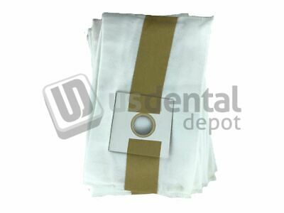 ECCO - Dust Collector Bags 5pk Anti-microbial deluxe filter bags 106912