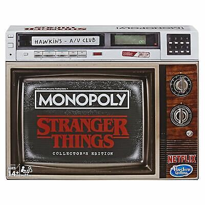 Monopoly Game Stranger Things Collector's Edition Board Game for Ages 14 & Up