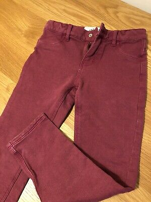 Fat Face Girls Plum Jeggings Age 6