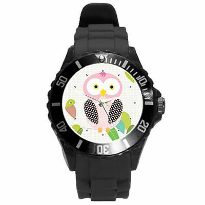 White Black Yellow Grey Purple Lime Green Pink Colorful Bird Watch