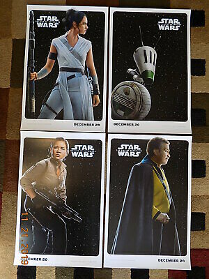 "Star Wars -The Rise of Skywalker (11"" x 17"") Movie Collector's Prints (Set of 4)"