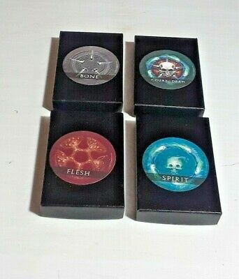 Sideshow Court of the Dead Collectible 4 Pin Set NYCC