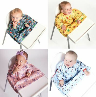 Griptight Cover All Sleeved Baby Feeding Bib 6 to 24 Months