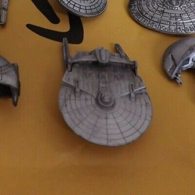 STAR TREK MICRO MACHINES  USS Reliant  Pewter Loose No Stand NCC1864