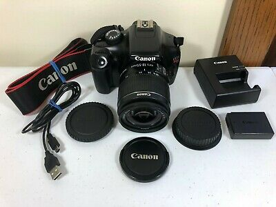 Canon EOS Rebel T3 12.2MP Digital SLR Camera - Black - With EF-S 18-55mm IS II