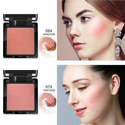 QIBEST Blusher Highly pigmented Long lasting colours Pressed Blush Hot Powd Q8X4