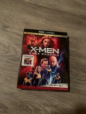 X-Men Dark Phoenix 4K Blu-ray + Digital + collectors cards Limited Edition