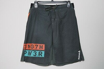 REEBOK ONE Series 3NG7H PW3R Board Shorts Fitness Gym CrossFit Mens Sz Small 🔥