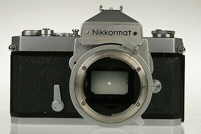 NIKON NIKKORMAT FT N Camera Body SLR Japan Working Good