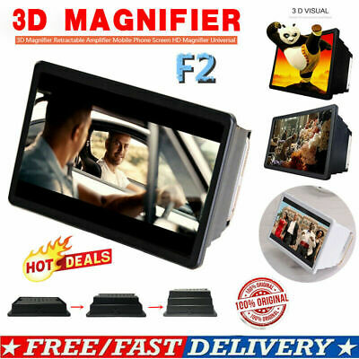 3D Magnifier Retractable Amplifier Mobile Phone Screen HD Magnifier Universal BO