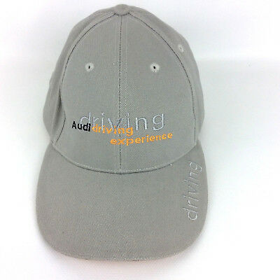 Audi Driving Experience  Hat Cap Licensed Gray Adjustable Golf Baseball