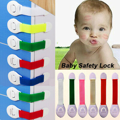 Baby Child Kids Cupboard Safety Table Cabinet Locks Proofing Door Drawer Latches