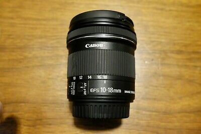 Canon EF-S 10-18mm f/4.5-5.6 IS STM Lens for Canon SLR
